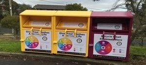 SCR recycling hub
